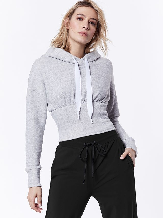 Carbon38 Lace Up Hoodie