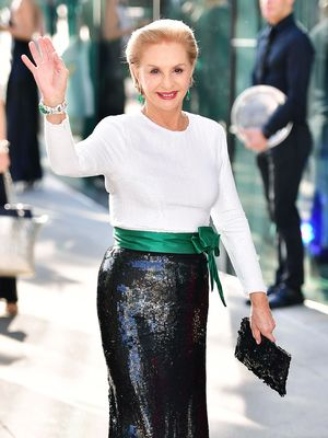 Carolina Herrera Steps Down From Her Brand—and Names Her Replacement