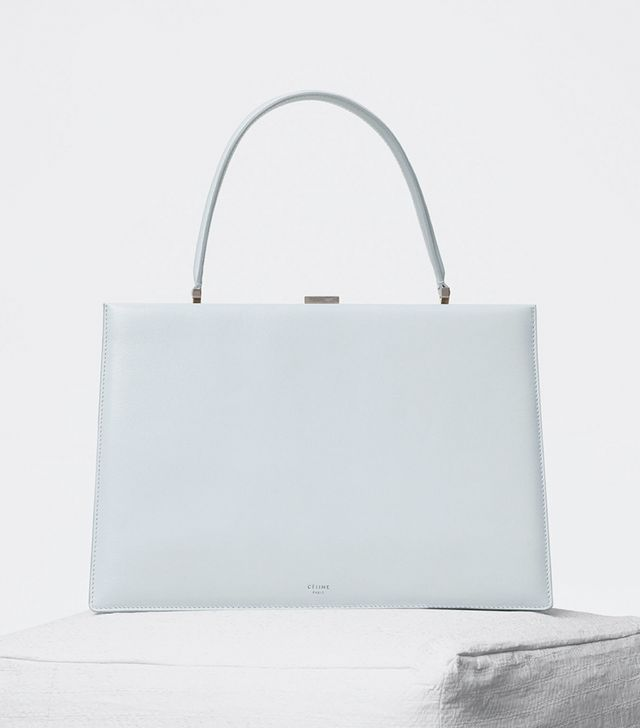Céline Medium Clasp Bag in Coatskin