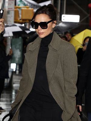 Victoria Beckham, You Make Perfect Leggings and Flats