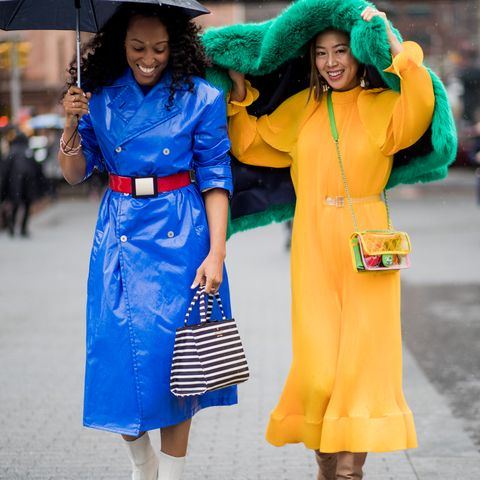 We Didn't Expect to See This Colour Everywhere at New York Fashion Week