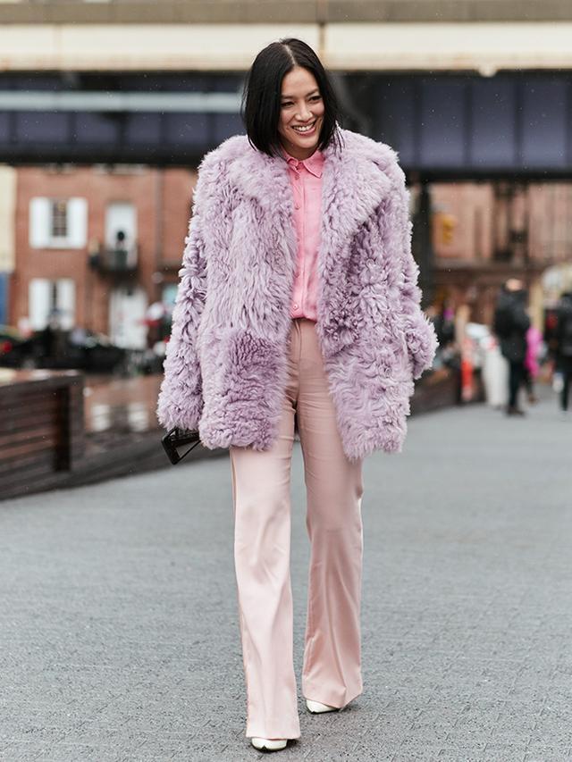 New York Fashion Week Street Style February 2018