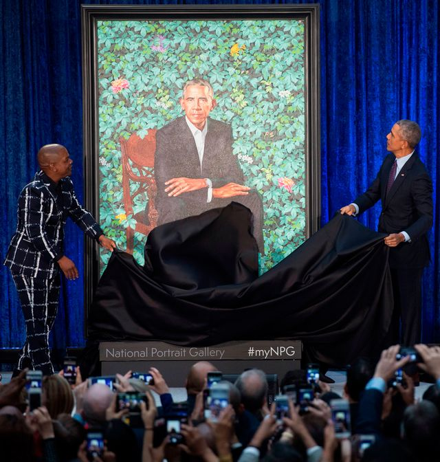 Barack and Michelle Obama Portraits