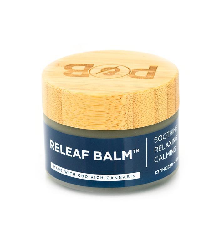 Releaf Balm 1:3 THC to CBD by Papa and Barkley