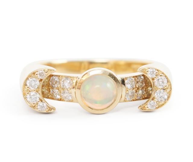 Pamela Love Luna Ring