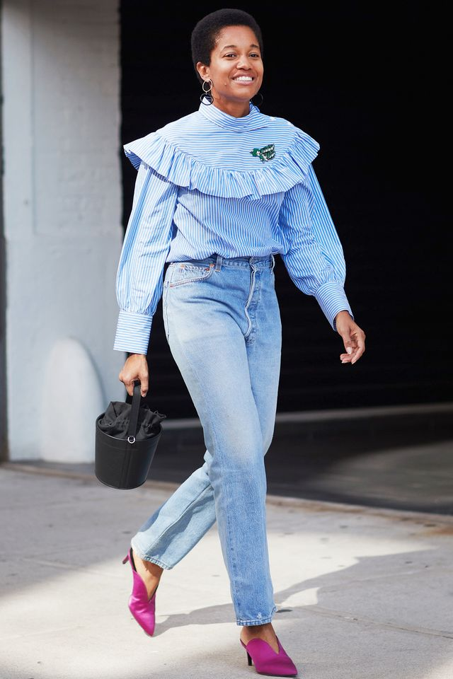 '90s mom trends, street style