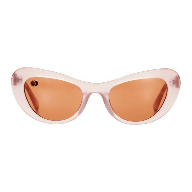 POMS Nuovo Pink & Tan Sunglasses