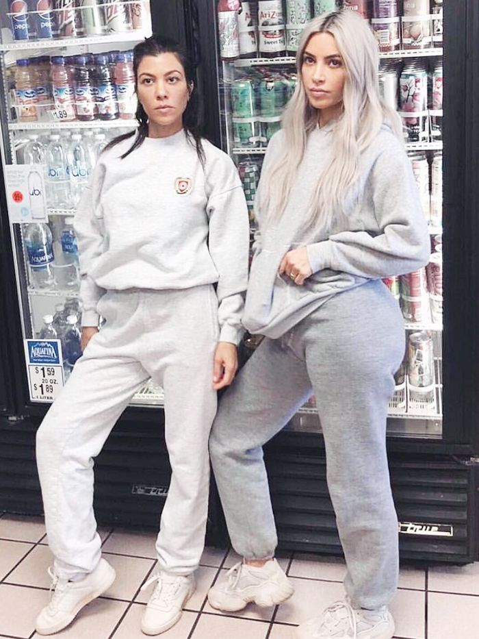 How to Wear a Grey Tracksuit