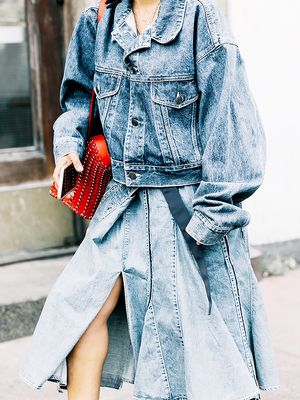 We Found a New Way to Wear Denim on Denim This Spring