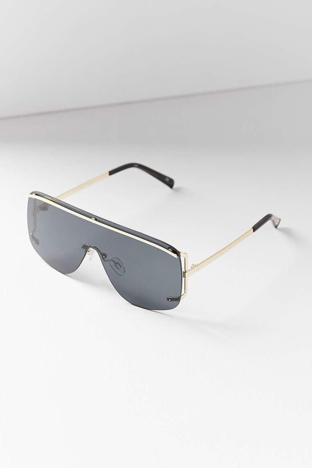 Le Specs Elysium Shield Sunglasses