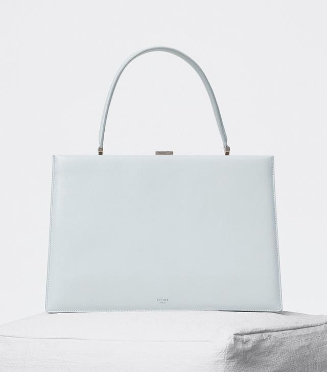 Céline Medium Clasp Bag in Coatskin