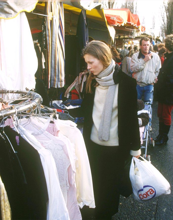 How to shop in charity shops: Kate Moss