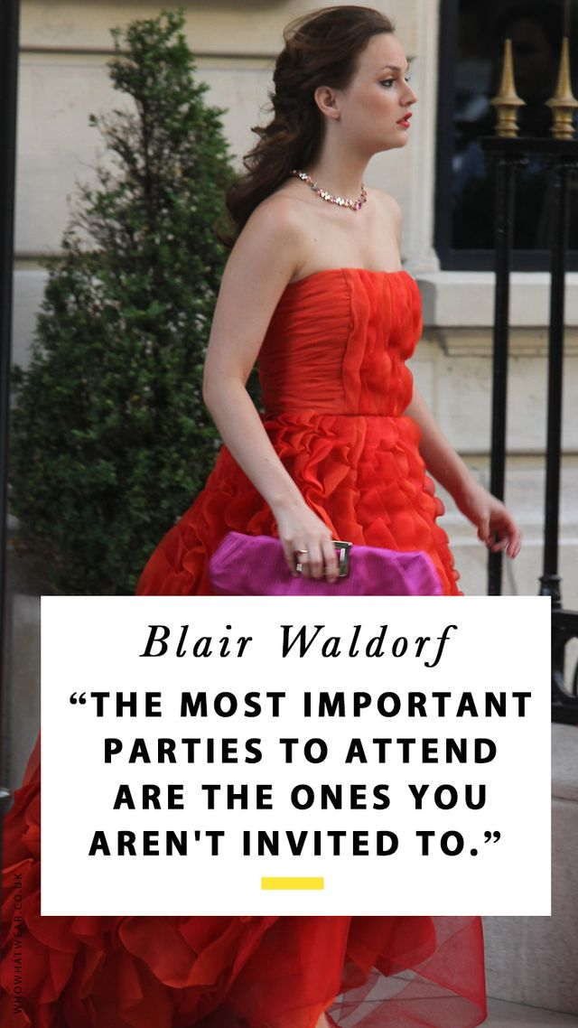 Blair Waldorf Quotes That Prove She\'s Still the Life Coach We All Need