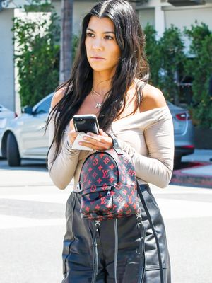 Kourtney Kardashian Just Confirmed This Is the Coolest Denim Trend Right Now