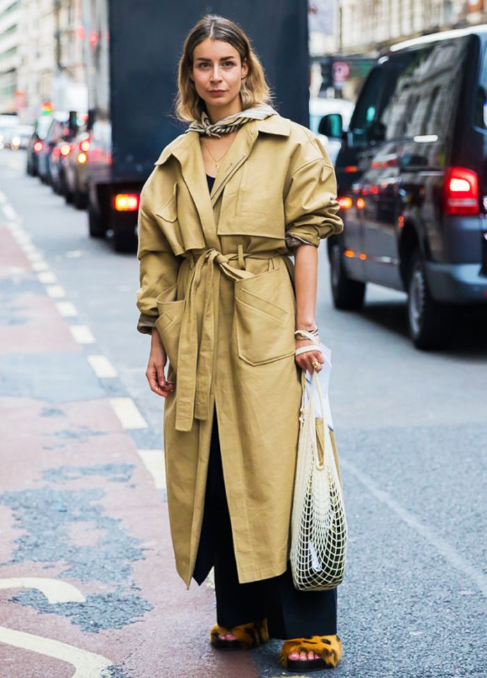 Best fluffy sliders:  Sliders with a Trench Coat