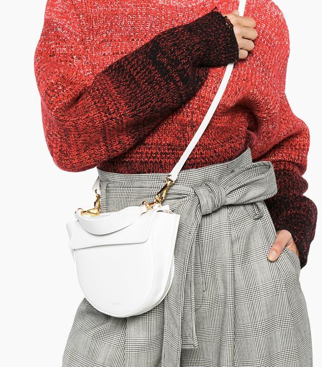 Wandler White Hortensia Mini Bag