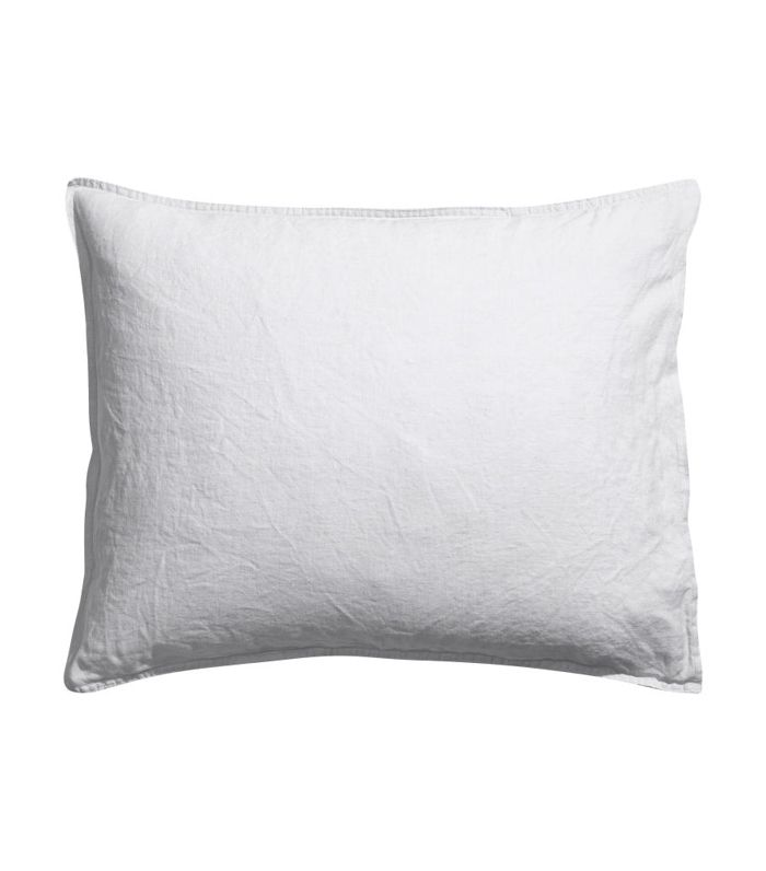 Washed Linen Pillowcase by H&M