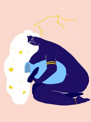 Born Under the Aquarius Sign? This Is Why You're Such a Free Spirit
