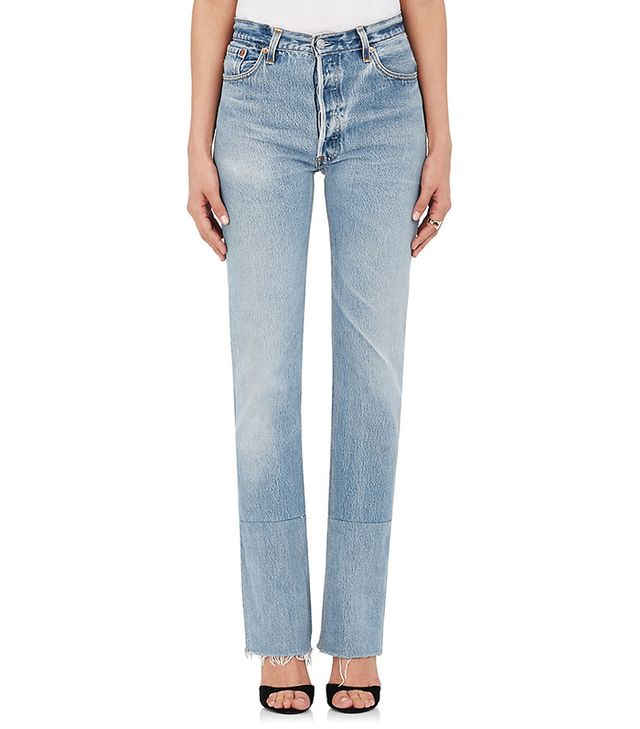 Women's High Rise Stovepipe Levi's® Jeans