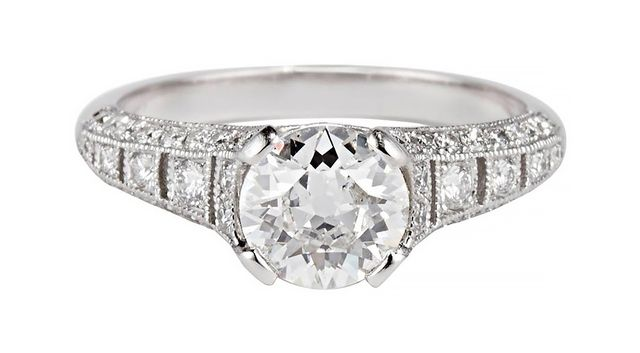Cushla Whiting Old Cut Engagement Ring