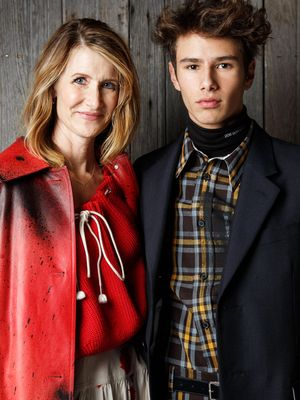 Laura Dern's 16-Year-Old Son Will Be Your New Favorite Model