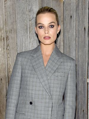 In Other News, Margot Robbie Showed Us How to Wear a Suit With No Pants