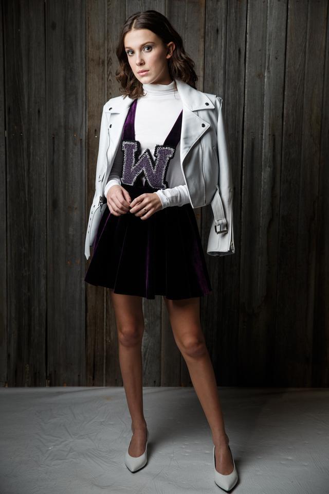 Millie Bobby Brown Calvin Klein Runway Fall 2018
