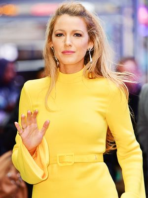 Serena van der Woodsen Would Approve of Blake Lively's Valentine's Day Outfit