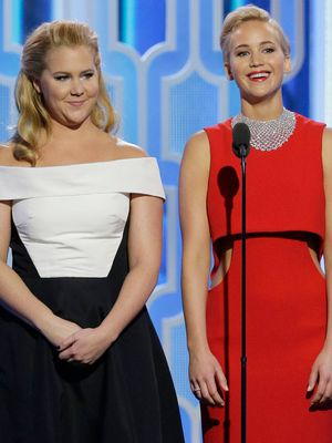 Jennifer Lawrence Wore the Prettiest Dress to Amy Schumer's Wedding