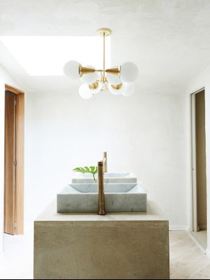 This Chic Master Bathroom Is Basically an At-Home Spa (and We're Very Into It)