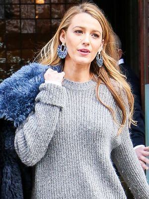 "Blake Lively Just Wore the ""No Pants"" Trend With a Major Shoe Trend"