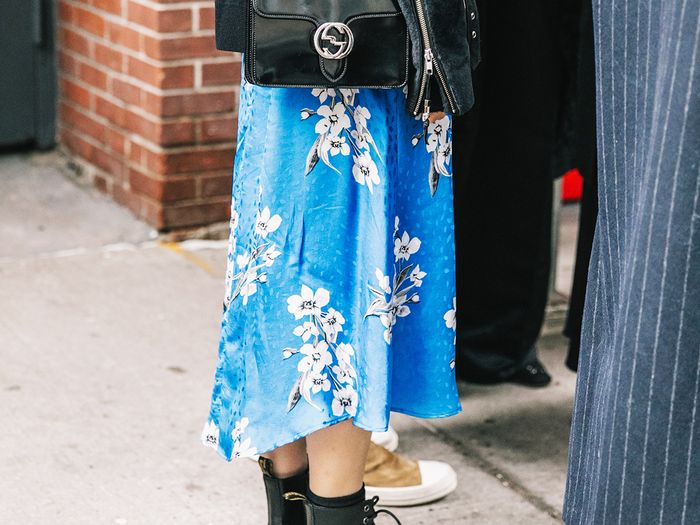 tops to wear with midi skirts