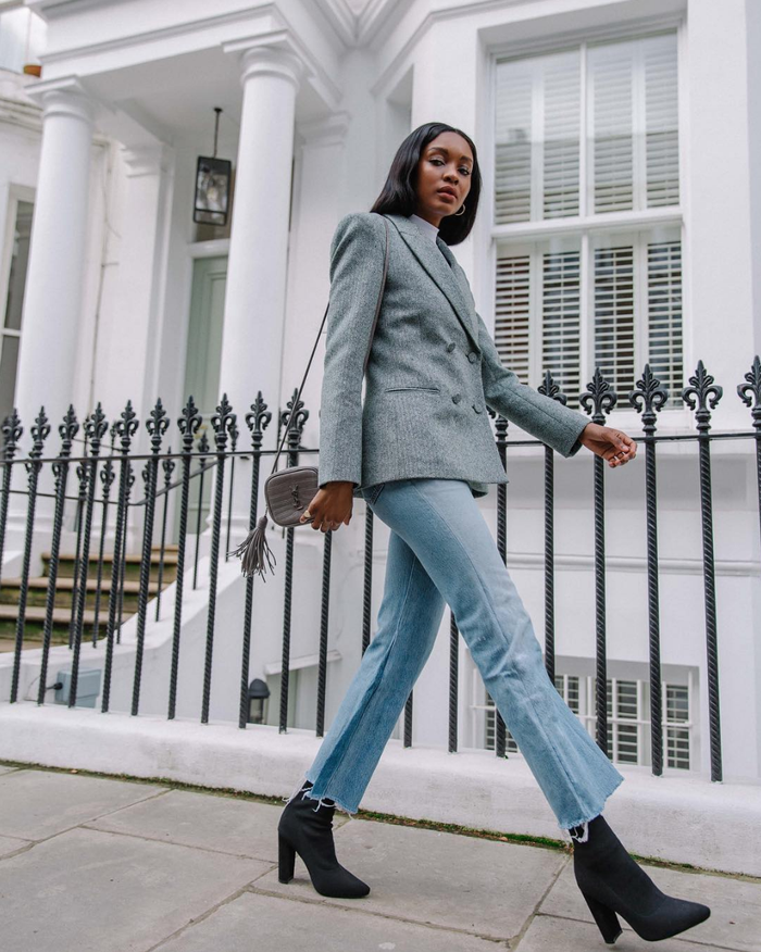 11 Sock Boot Outfits That Feel Fresh