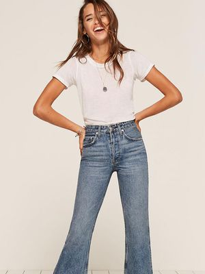 These Flattering Jeans Have a 3000-Person Waiting List