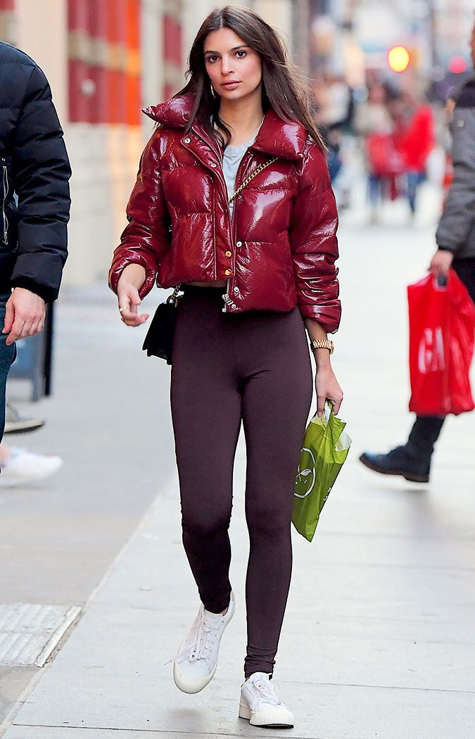 Emily Ratajkowski Wearing Adidas Everyn Sneakers | Who What Wear
