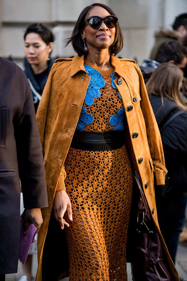 London Fashion Week Street Style February 2018 Whowhatwear Au