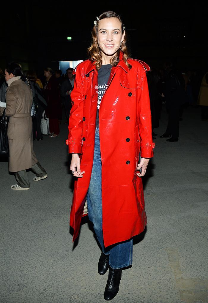 Alexa Chung London Fashion Week: