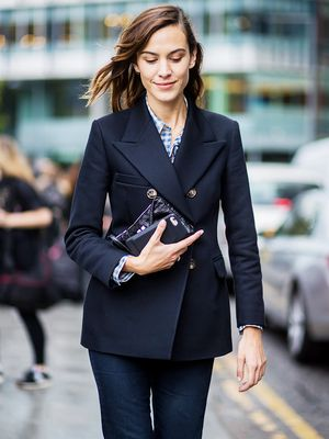 All of Alexa Chung's Outfits This Fashion Week Have This One Thing in Common