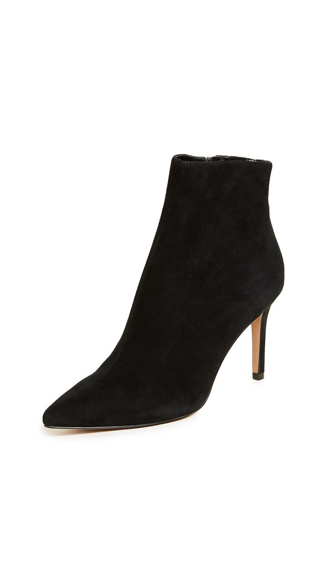 Logic Point Toe Ankle Boots