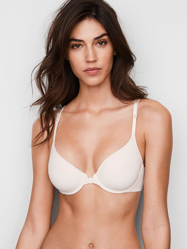 Victoria's Secret Front-Close Lightly Lined Demi Bra
