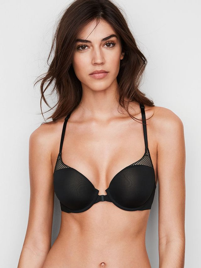 Victoria's Secret Front Close Push-Up Full Coverage Bra