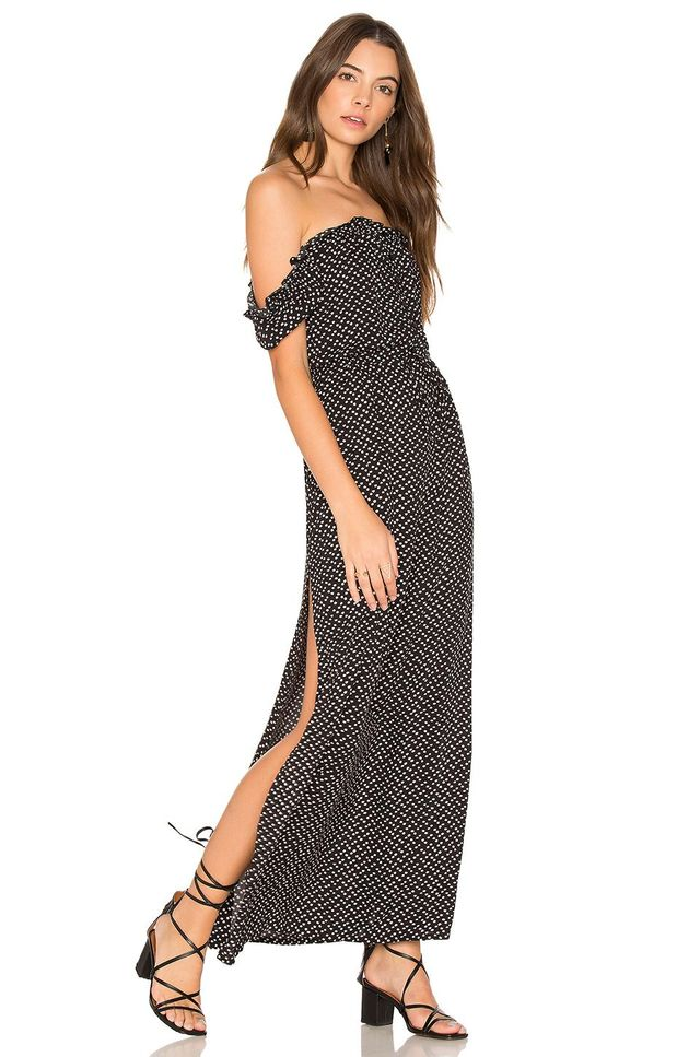 Stevie Maxi Dress Penelope Polka