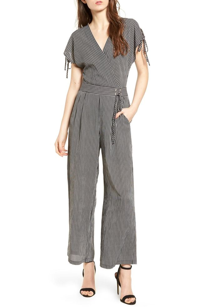 Women's J.o.a. Stripe Jumpsuit