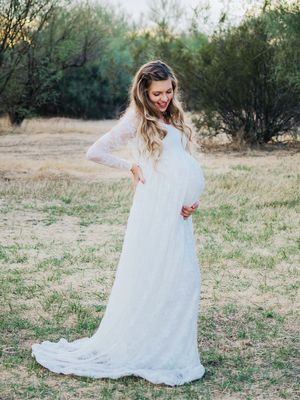 Maternity Wedding Dresses Are Hard to Find; Here Are the Best Places to Start