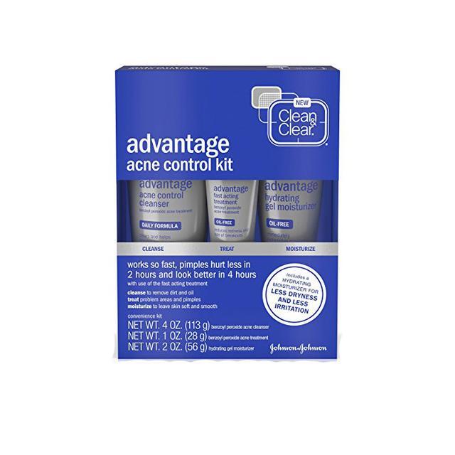 Clean & Clear Advantage Acne Control Kit