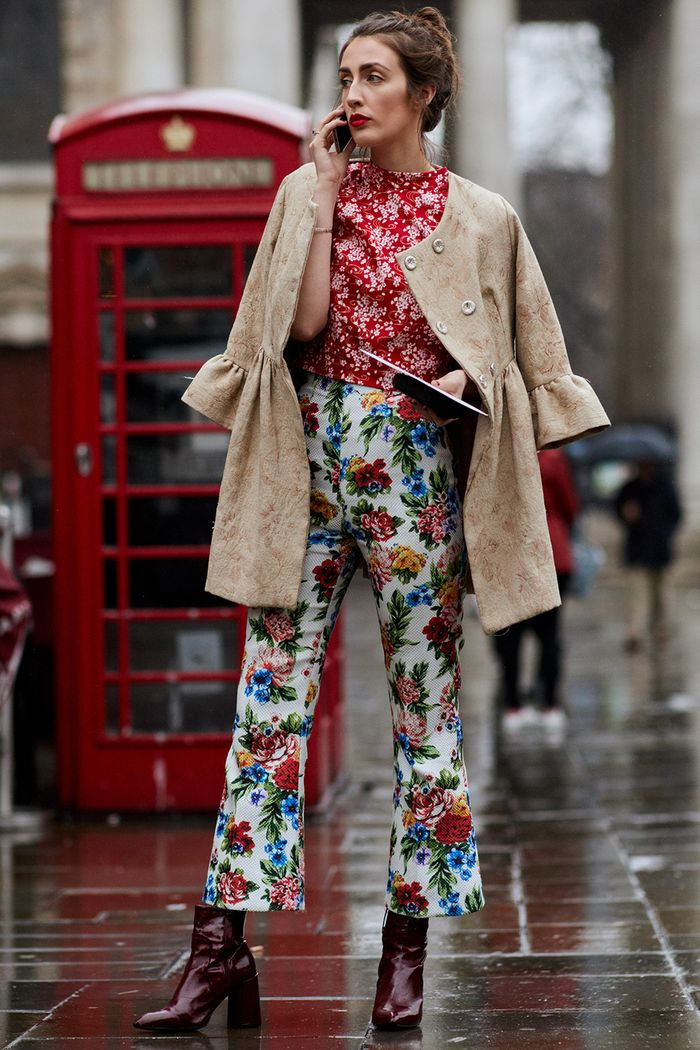 The Latest Street Style From London Fashion Week Who What Wear