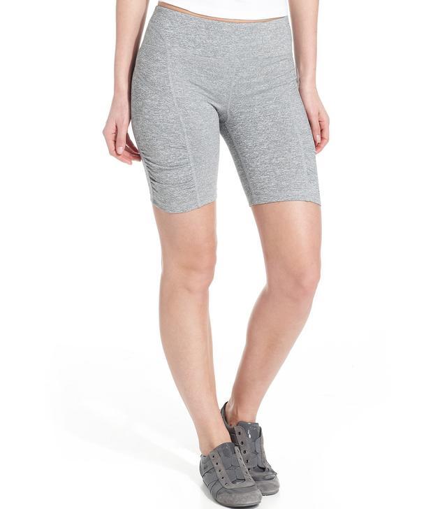 Performance Shorts, Skinny Ruched Bike Shorts