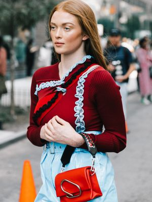 This Romantic Sweater Trend Is About to Be Everywhere