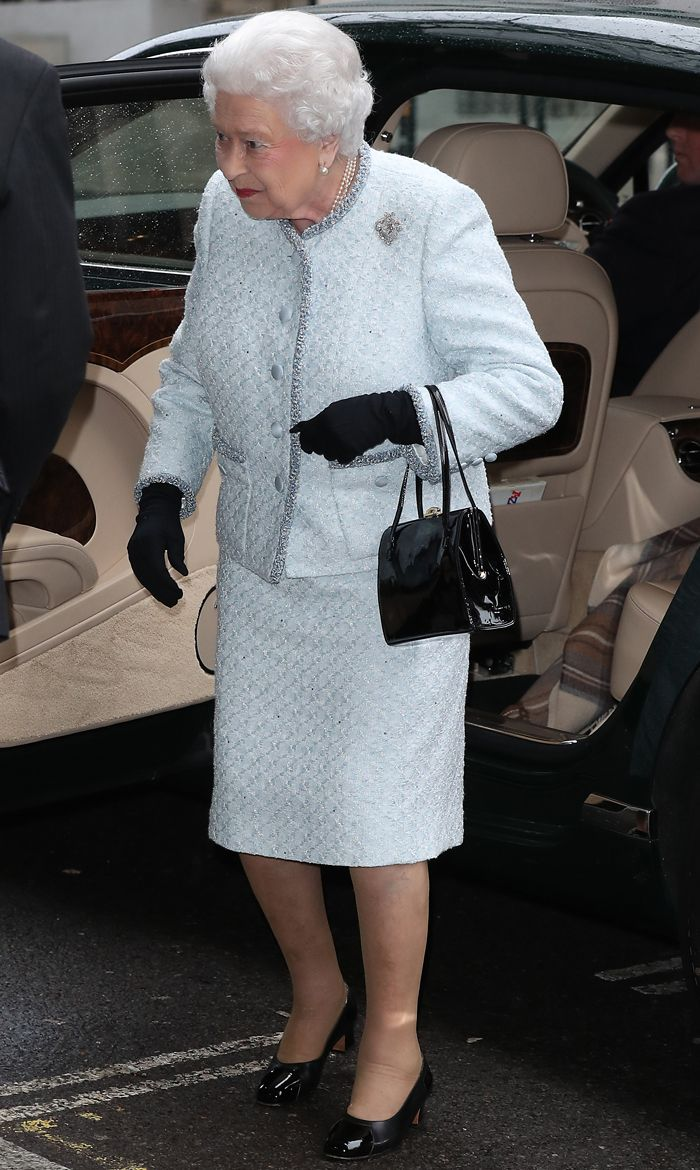 The Queen at London Fashion Week: