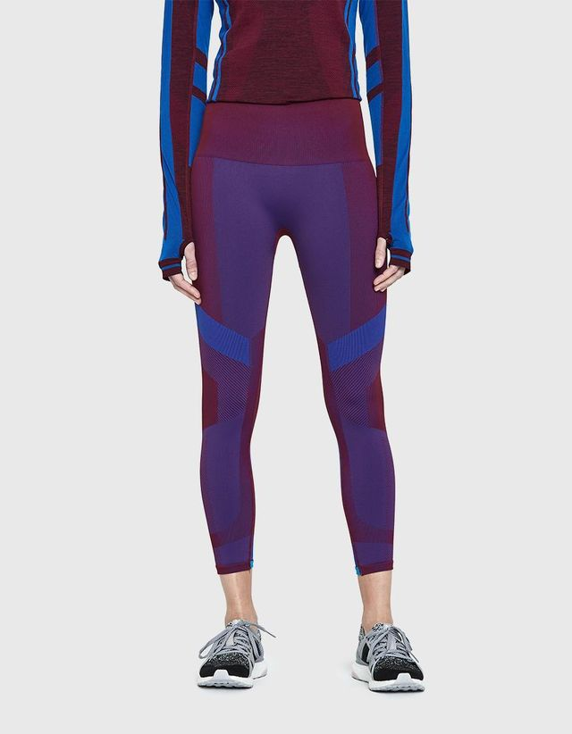 Vortex Leggings in Burgundy
